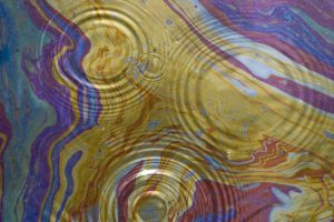 simple background, Ripples, Water, Colorful, Paint splatter
