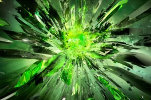 green, Explosion
