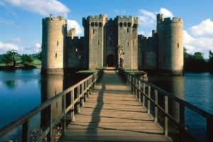 castle, Bridge