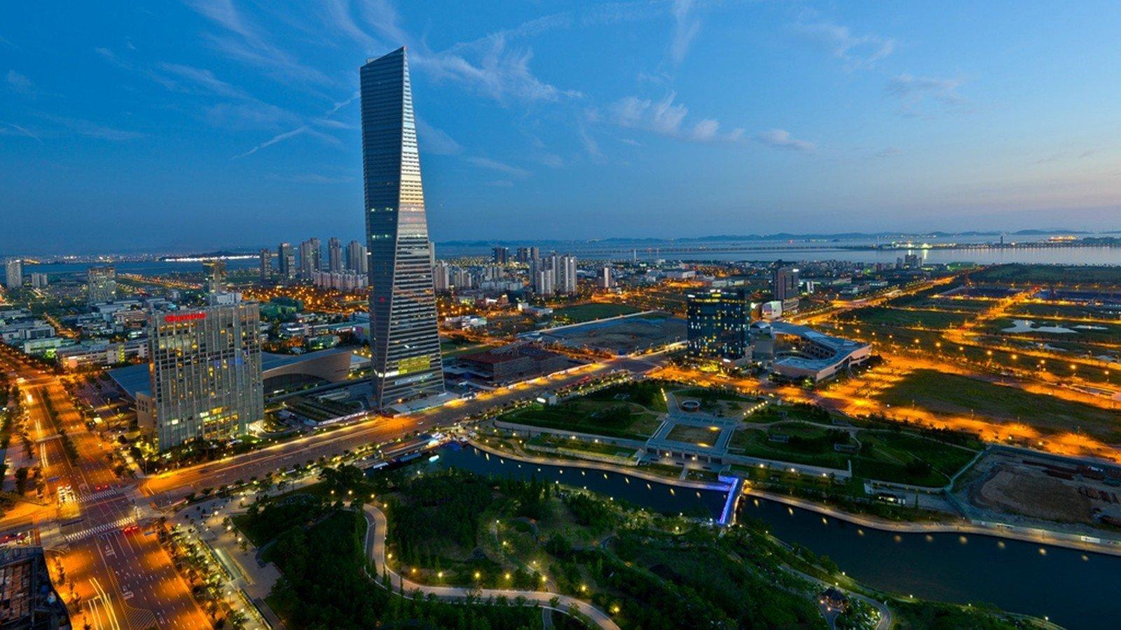 Cityscape Lights Seoul South Korea Hd Wallpapers