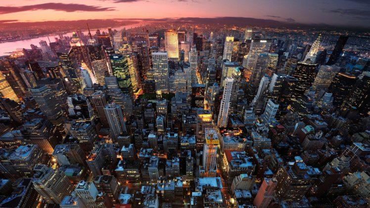 cityscape, New York City, USA HD Wallpaper Desktop Background