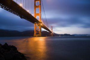 cityscape, Bridge, Golden Gate Bridge, San Francisco, USA