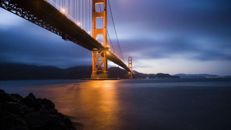 Cityscape Bridge Golden Gate Bridge San Francisco Usa Hd Wallpapers Desktop And Mobile Images Photos