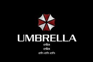 simple background, Black, Umbrella Corporation