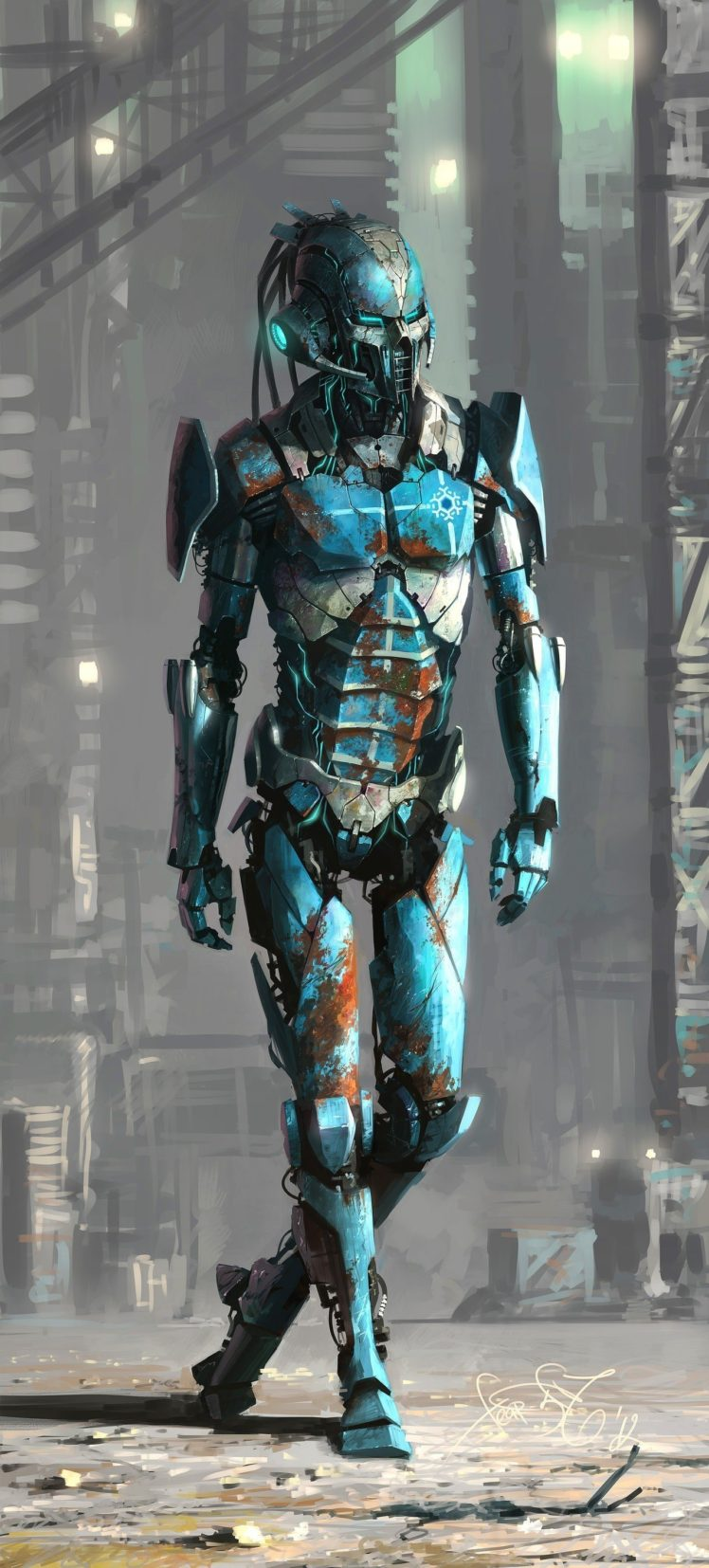 robot, Mortal Kombat X, Mortal Kombat, Sub Zero HD Wallpaper Desktop Background