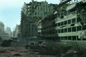 ruin, Urban, Cityscape, Apocalyptic