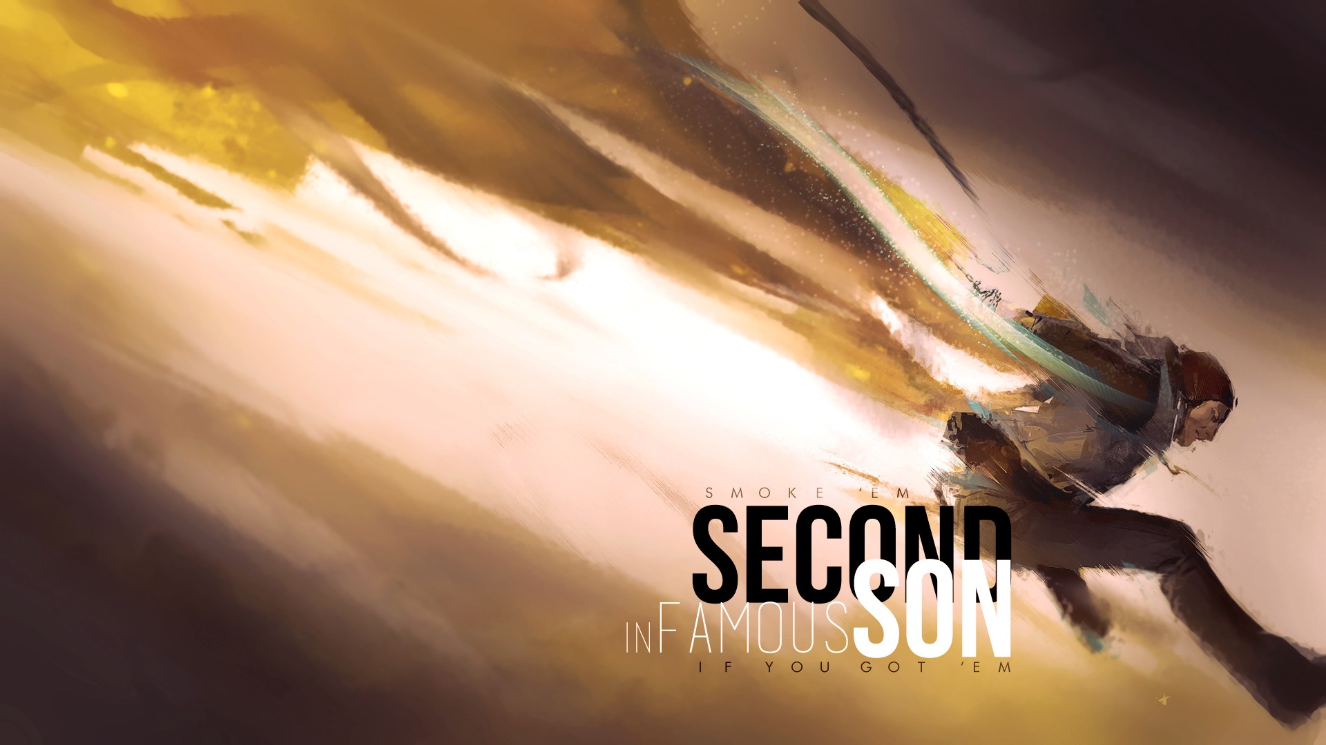 Infamous Second Son Delsin Rowe Playstation Playstation 4 Hd