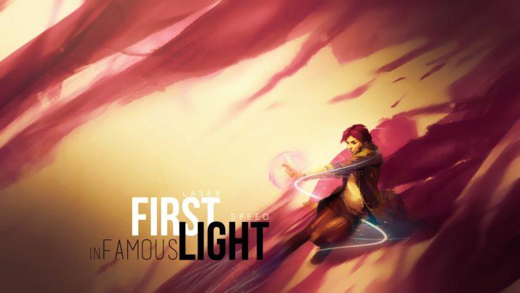 Infamous: Second Son, Fetch, Abigail Walker, Infamous: First Light, PlayStation, PlayStation 4 HD Wallpaper Desktop Background