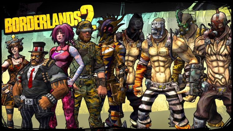 Borderlands, Borderlands 2, Vault Hunters HD Wallpapers