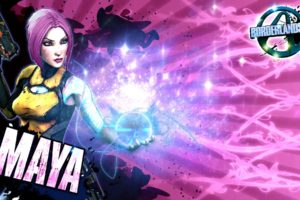 Borderlands, Borderlands 2, Vault hunters, Maya (Borderlands)