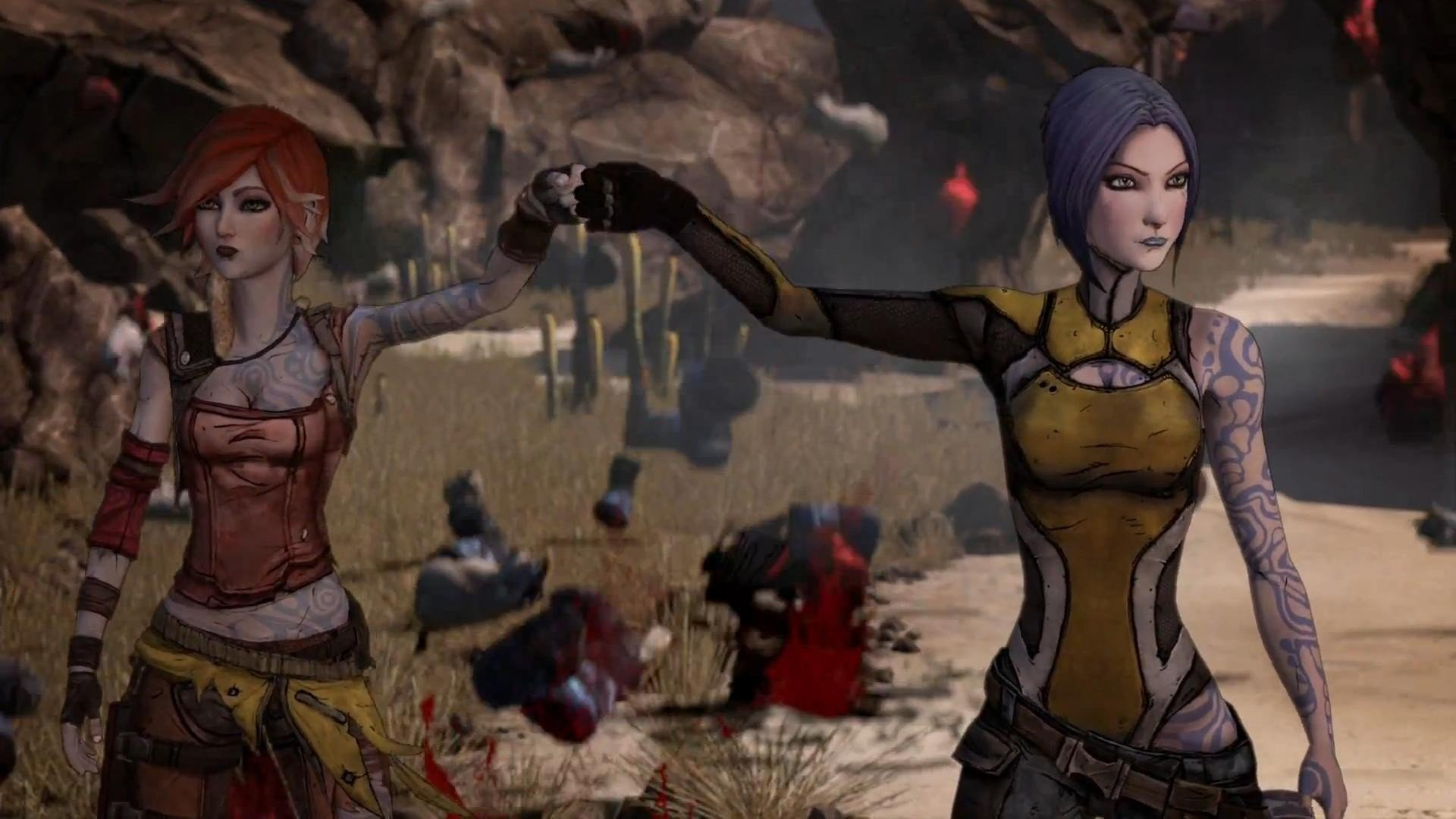 Borderlands 2 Naked Girls