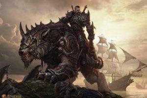warrior, Axes, Creature