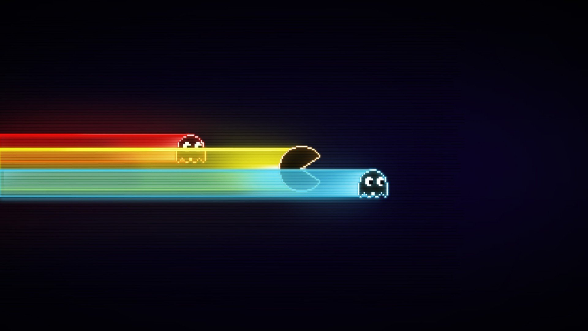 blue, Pacman Wallpaper