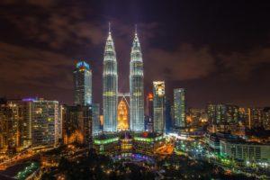 cityscape, Kuala Lumpur, Malaysia, Petronas Towers