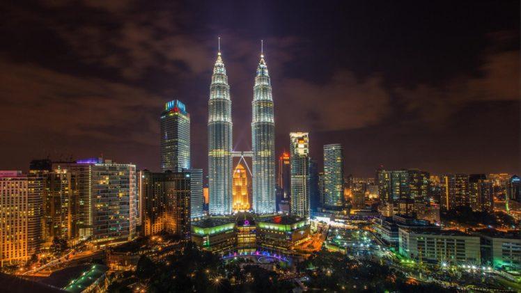 cityscape, Kuala Lumpur, Malaysia, Petronas Towers HD Wallpaper Desktop Background