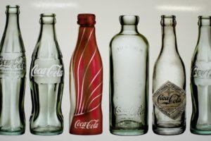 bottles, Coca Cola
