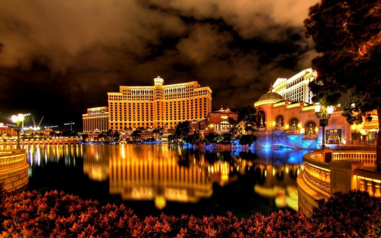 cityscape, Hotels, Reflection, Lights, Las Vegas HD Wallpaper Desktop Background