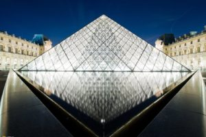 The Louvre, Pyramid, Building, Architecture, Museum, National Geographic, Paris