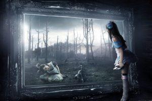Alice in Wonderland, Spooky, Gothic