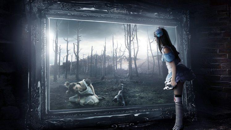 Alice In Wonderland Spooky Gothic Hd Wallpapers Desktop