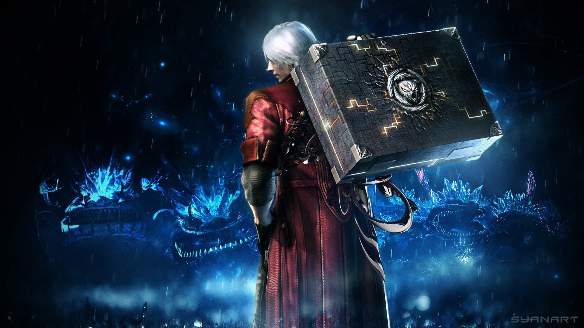 Dante Devil May Cry Dmc Devil May Cry Hd Wallpapers Desktop