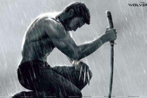 sword, Wolverine, Shirtless
