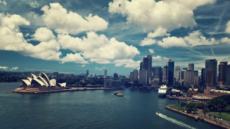 cityscape, Sydney Opera House, Sydney, Australia HD Wallpaper Desktop Background