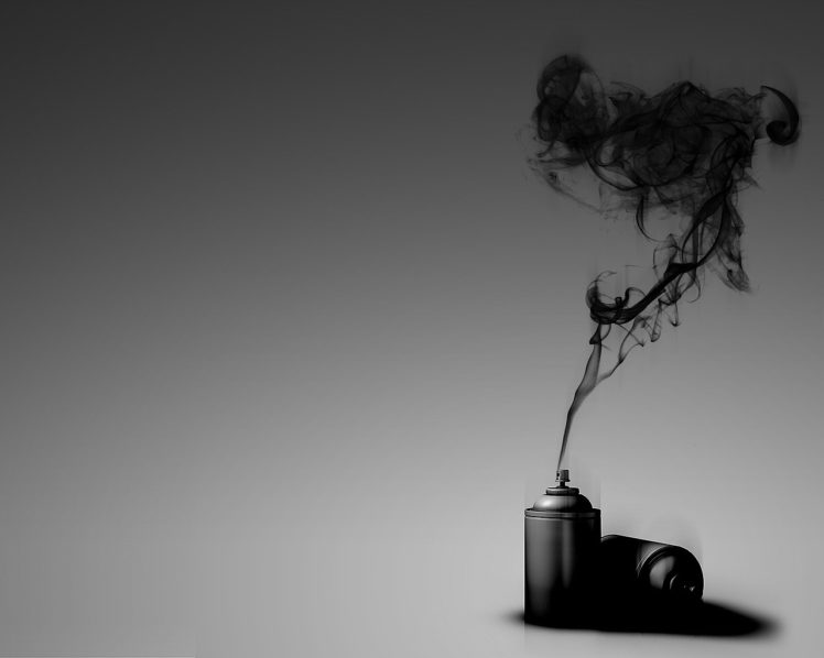 spray, Black, Simple background HD Wallpaper Desktop Background