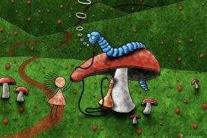 Vladstudio, Mushroom, Alice in Wonderland