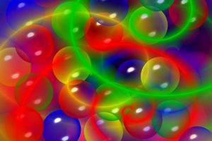 sphere, Colorful