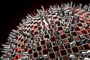 chess, Sphere, Fractalius