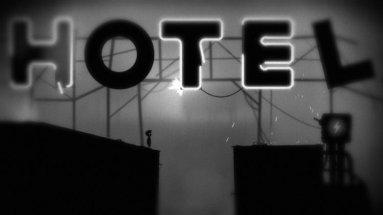 Limbo Hotels Signs Monochrome Hd Wallpapers Desktop And