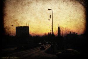 cityscape, Hangman
