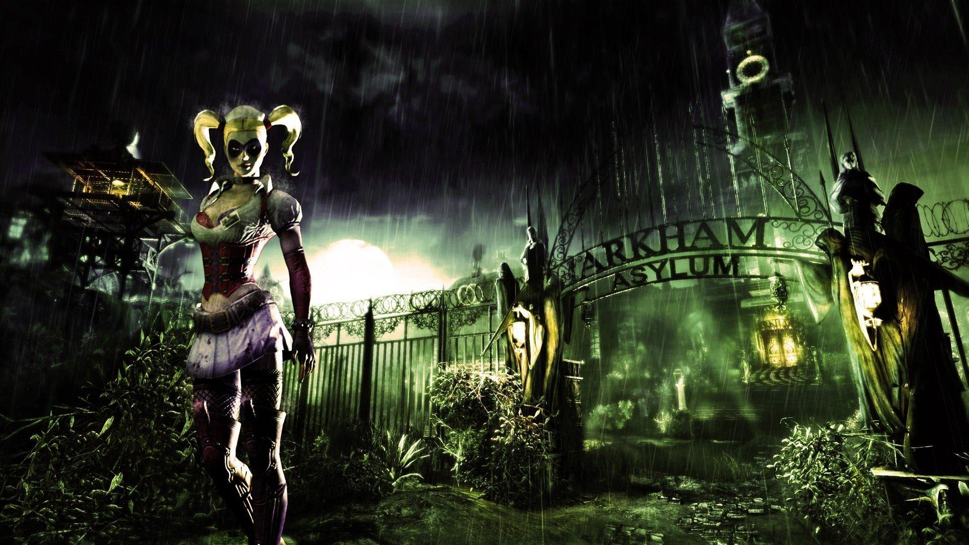 Harley Quinn Video Games Batman Arkham Asylum Hd Wallpapers