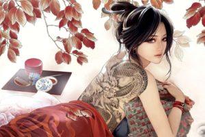 tattoo, Japan