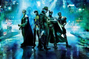 Watchmen, Rorschach, Dr. Manhattan, Nite Owl, The Comedian, Ozymandias, Silk Spectre