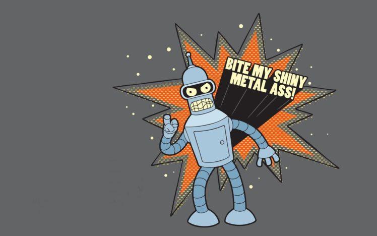 Futurama, Bender, Bite my shiny metal