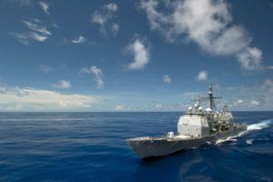 navy, Ship, USS Bunker Hill, Ticonderoga class, Destroyer