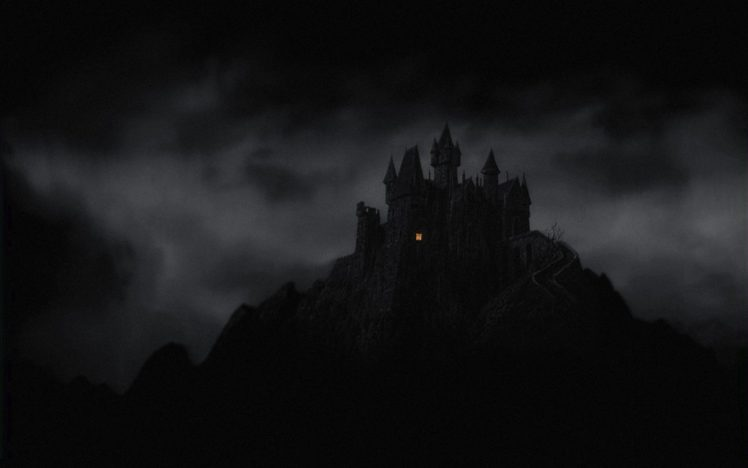 Castle Dark Night Hd Wallpapers Desktop And Mobile Images Photos