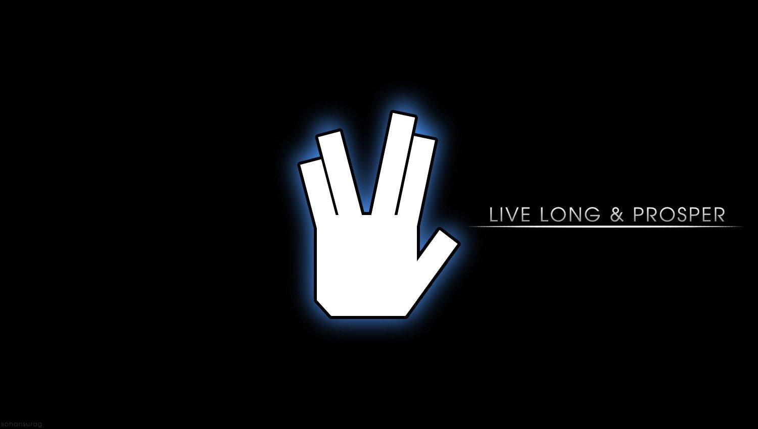 Star Trek Live Long And Prosper Hd Wallpapers Desktop And