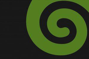 minimalism, Spiral, OpenSUSE