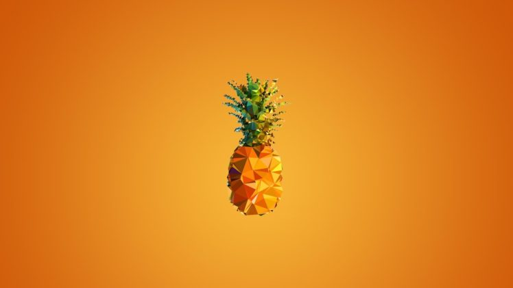 Minimalism Pineapples HD Wallpaper Desktop Background