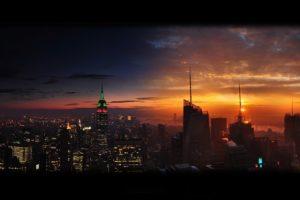 cityscape, New York City, Empire State Building