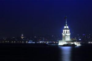 Turkey, Istanbul, Maidens Tower