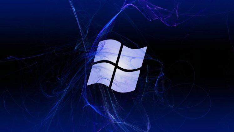 logo, Microsoft Windows HD Wallpaper Desktop Background