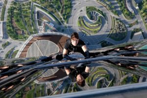 Mission Impossible Ghost Protocol, Tom Cruise, Climbing, Heights