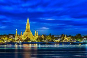city, Cityscape, Long exposure, Thailand, Bangkok, Buddhism, Light trails