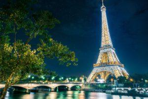city, Cityscape, Paris, France, Eiffel Tower