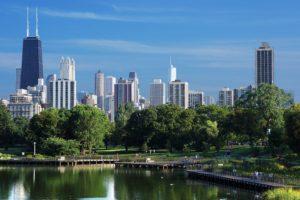 city, Cityscape, Chicago, USA