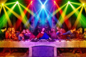 anime, 12 Disciples, Nightclubs, The Last Supper